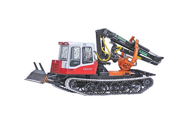 Бесчокерный трелевочный трактор ЛП-18К на шасси МСН-10