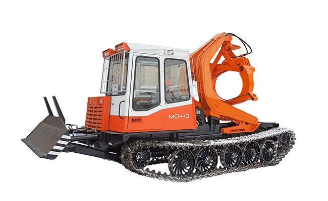 Трактор трелевочный бесчокерный МСН-10 ЛТ-187