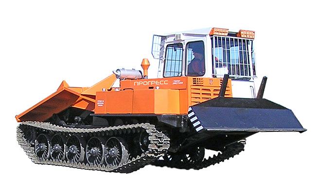 Трактор лесопромышленный (трелевочный) с толкателем  МСН-10-04