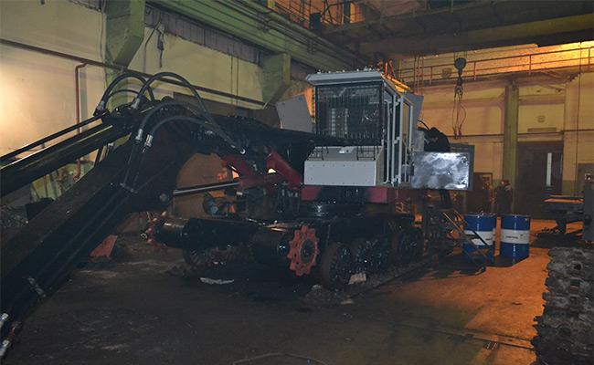 Капитальный ремонт валочно-пакетирующих машин ЛП-19